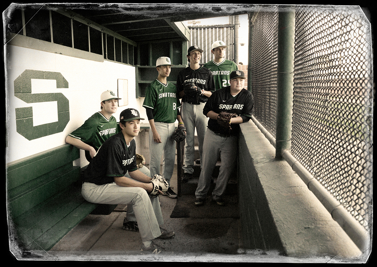 Laura_Cottril_De_La_Salle_baseball_dugout_blog